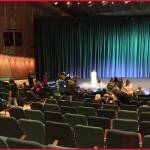 Blick zur Bühne im HKW